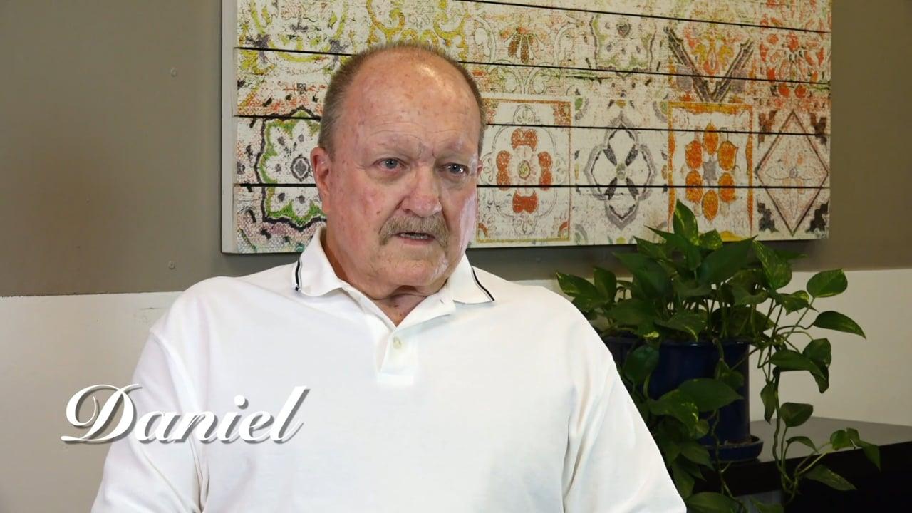 Daniel's Testimonial